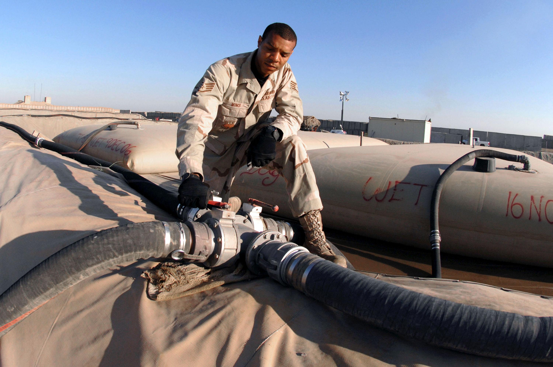 Keepin' the fuel flowin' in Kirkuk