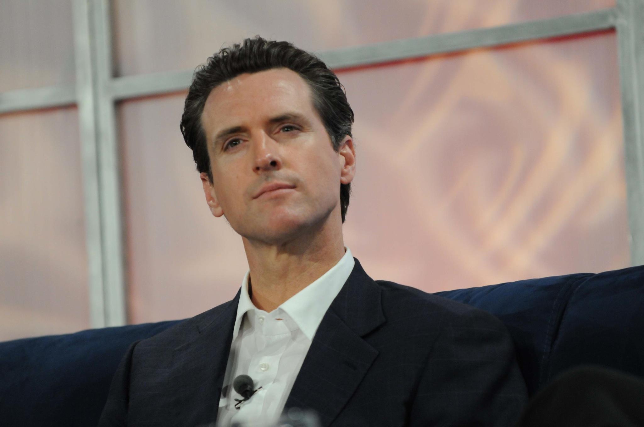 California governor Gavin Newsom JD Lasica/Flickr.com