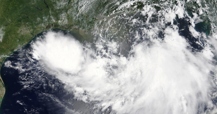 NASA Photo of Hurricane Barry / Public Domain