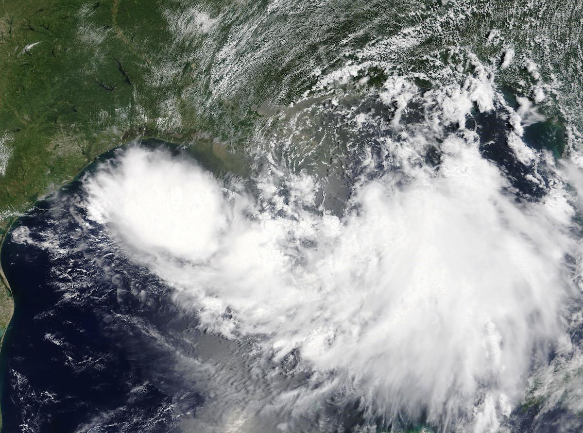 NASA Photo of Hurricane Barry / Public Domain