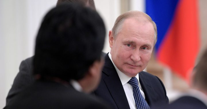 Vladimir Putin, The Presidential Press and Information Office/Wikimedia Commons