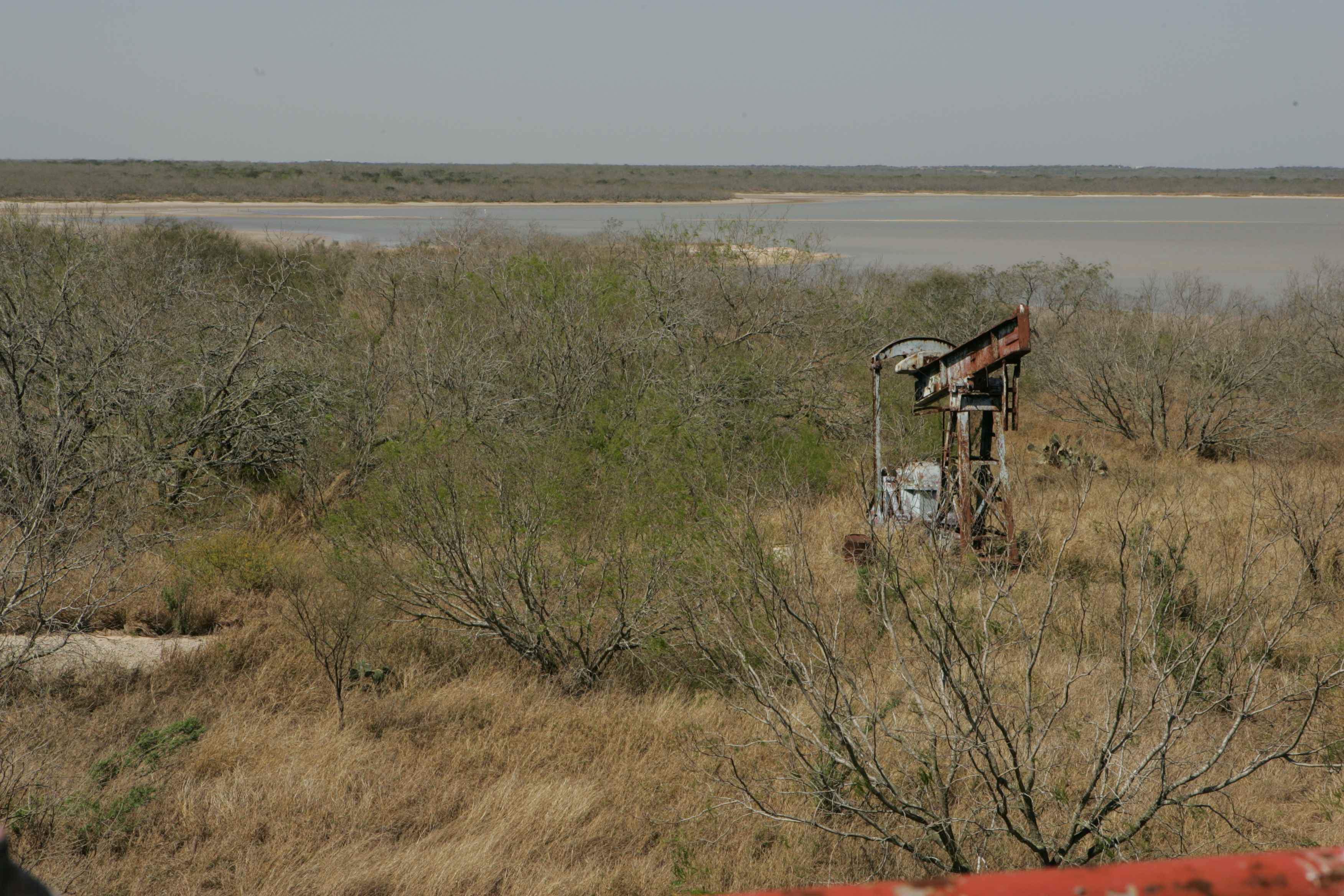 Abandoned gas well pump, Steve Hillebrand/U.S. Fish and Wildlife Service/Wikimedia Commons